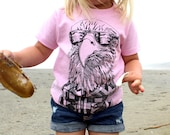 Hipster Eagle Kids Tee