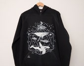 Galactic Whales Unisex Pullover Hoodie