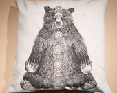 Kundalini Bear Pillow Case