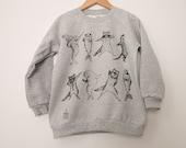 Dancing Animals Kids Crewneck Sweater