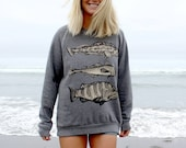 Cod Fish Crewneck Sweatsh...