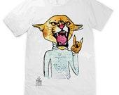 Rockout Cougar Unisex T-shirt