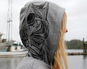 Skeleton Mermaid Grey Pul...