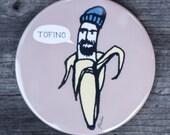 Hipster Banana Magnet | Made in BC | Fridge Magnet