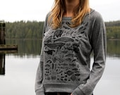 Species on Grey Slouchy S...