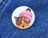 Cray Cat Button