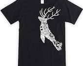 Energy Animal Deerlion Unisex T shirt