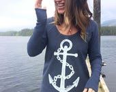 Nautical Navy Camper Shirt