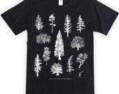 Tree Species of Vancouver Island Unisex T-Shirt
