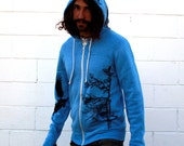 Eagle Blue Zip Hoodie...