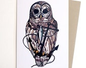 Owl and Anchor Card...