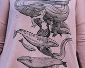 Mermaid Fiddles, Greywhales and Starfish Florencia Top