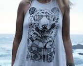 Bear in Shades Drift Tank...