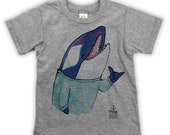 Shaka Orca on Kids T-shirt
