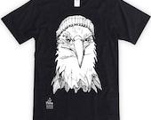 Eagle in Toque