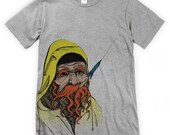 Old Salty Fisherman Unisex T-Shirt