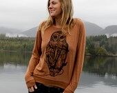 Owl with Anchor Slouchy S...