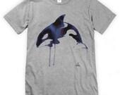 Watercolour Orca Unisex T-Shirt