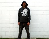 Chief Raven Black Pullover Hoodie
