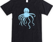 Squiggly Octopus Unisex T-Shirt