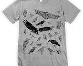 Bird Species of Ucluelet Unisex T-Shirt