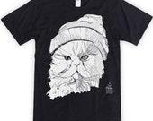 Cat in Toque Unisex T-Shirt