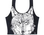 Wolf Crop Tank
