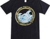 Porthole and Waves Unisex T-Shirt