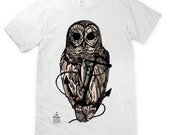 Owl and Anchor Unisex T-Shirt