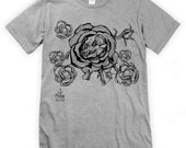 Grizzly Rose Unisex T-Shirt