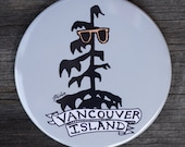 Tree in Shades Magnet | Vancouver Island | Made in BC | Fridge Magnet