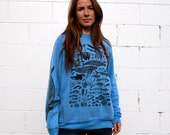 Species of Ucluelet Blue Crewneck Sweatshirt