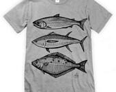 Salmon Tuna Halibut Fish Unisex T-Shirt