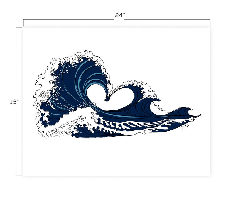 Love Wave Downloadable Print 18 x 24 image 0