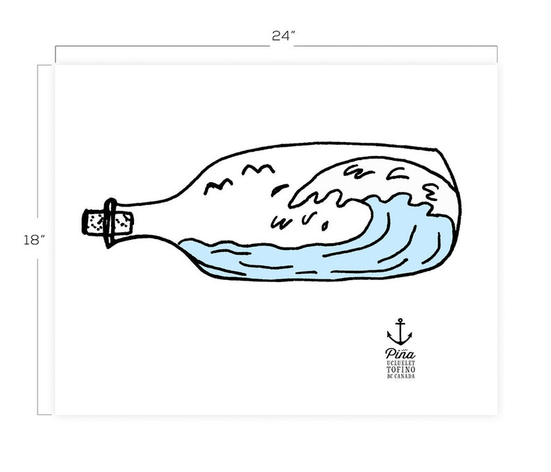 Bottle and Wave image 0