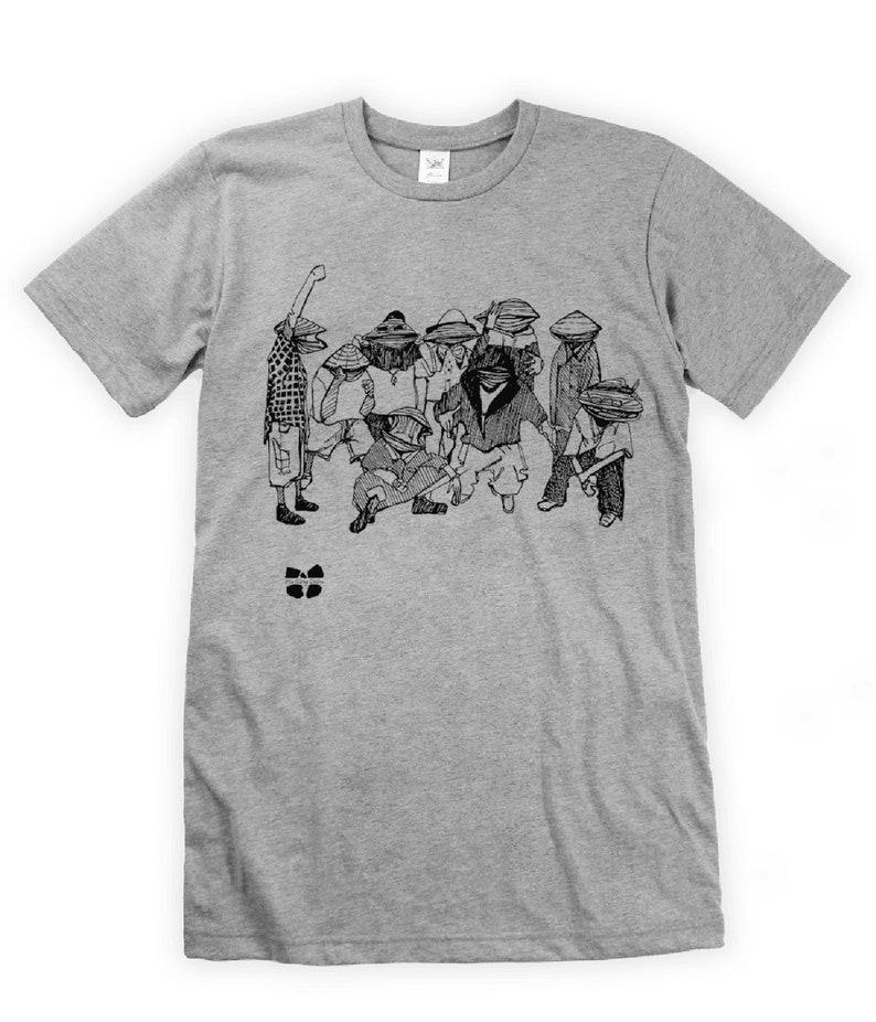 Wu-Tang Clams on Unisex T-Shirt image 0