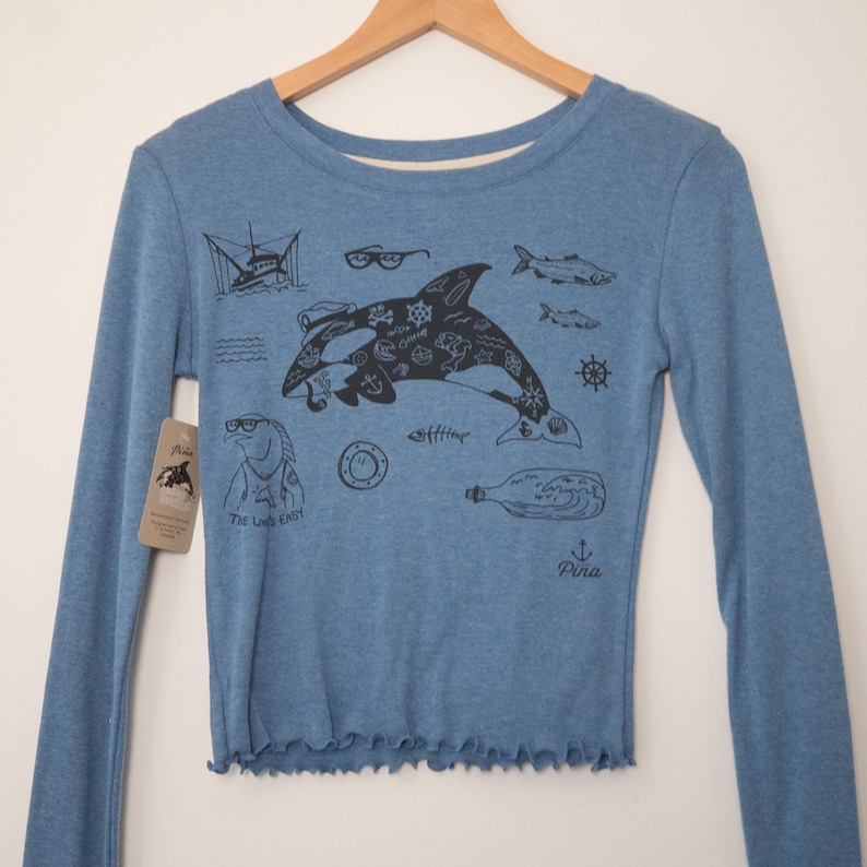 Tattooed Orca Unisex T-Shirt