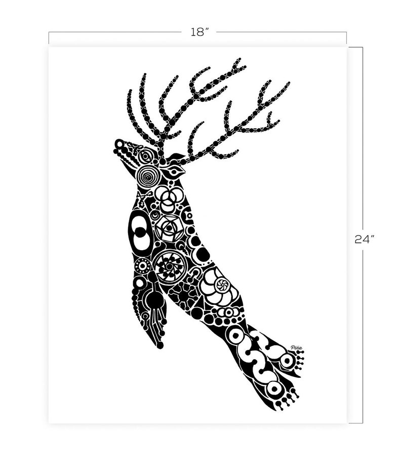 DeerLion Downloadable Print 18 x 24 image 0