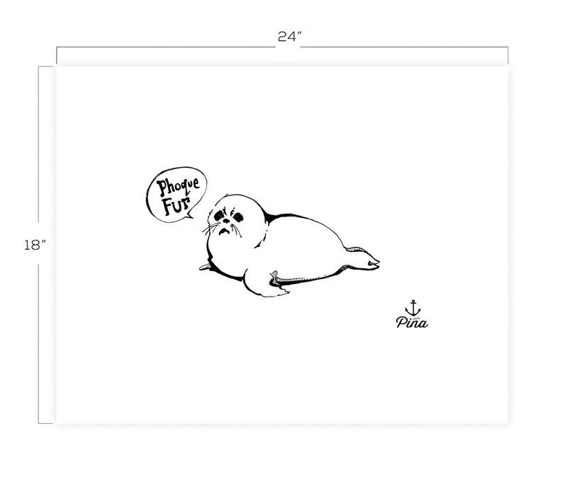 Phoque Fur Downloadable Print 18 x 24 image 0