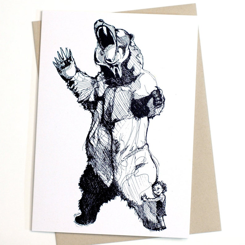 Bear Hugger Card image 0