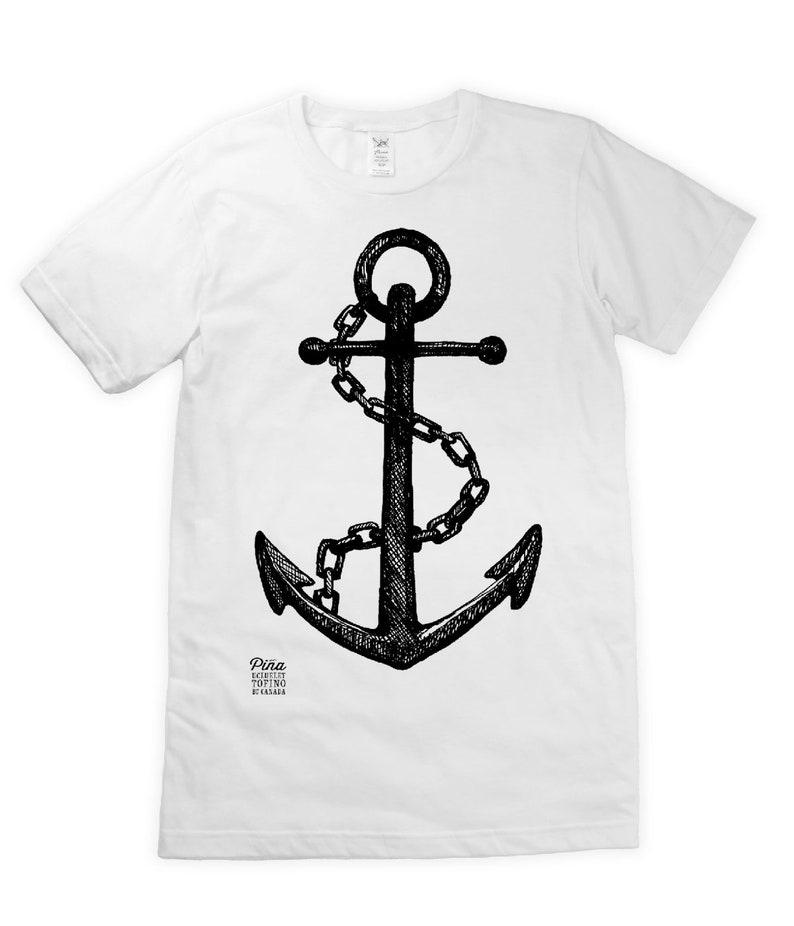 Anchor on Unisex T-Shirt image 0