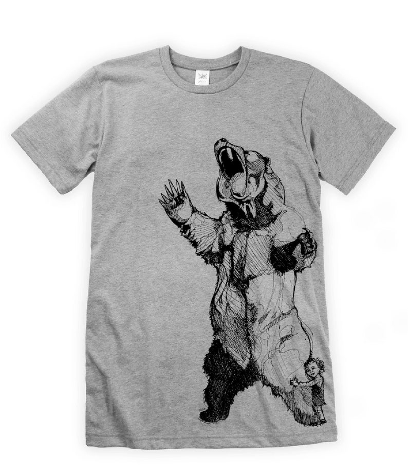 Bearhugger on Unisex T-Shirt image 0