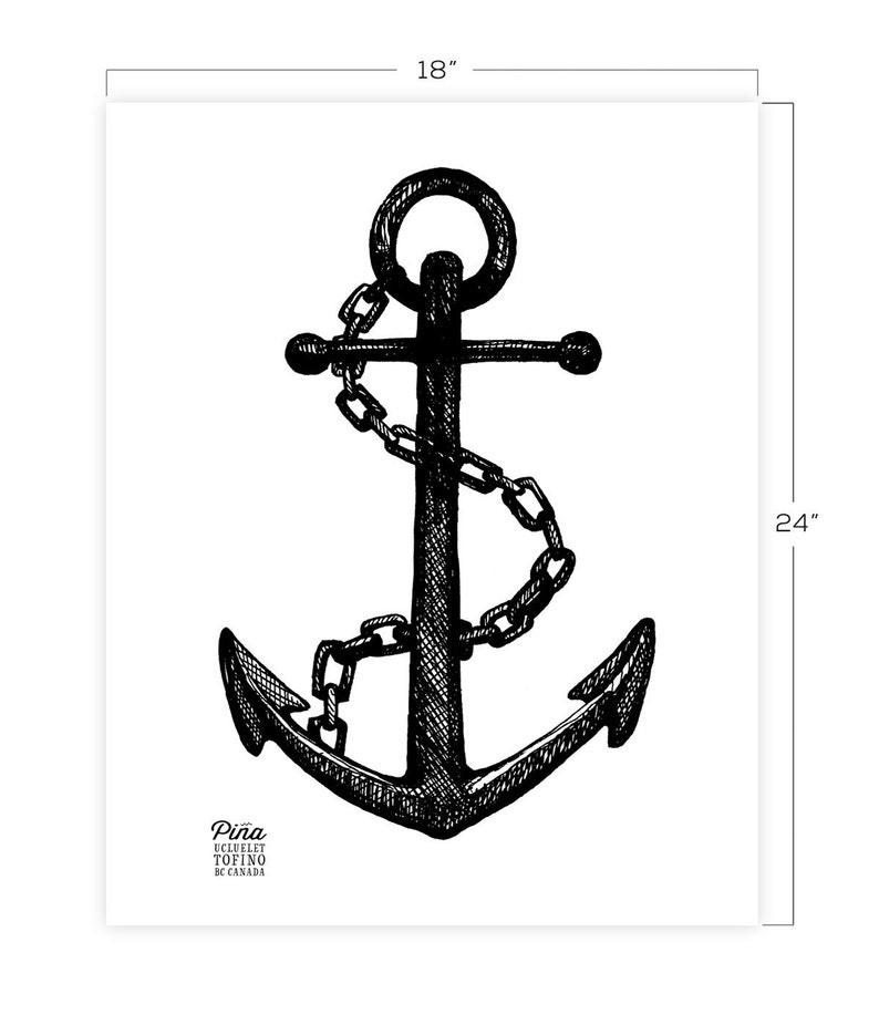 Anchor Downloadable Print 18 x 24 image 0