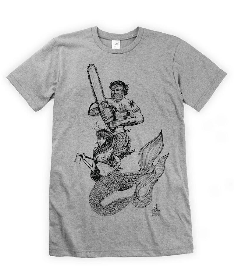 Mercouple on Unisex T-Shirt image 0