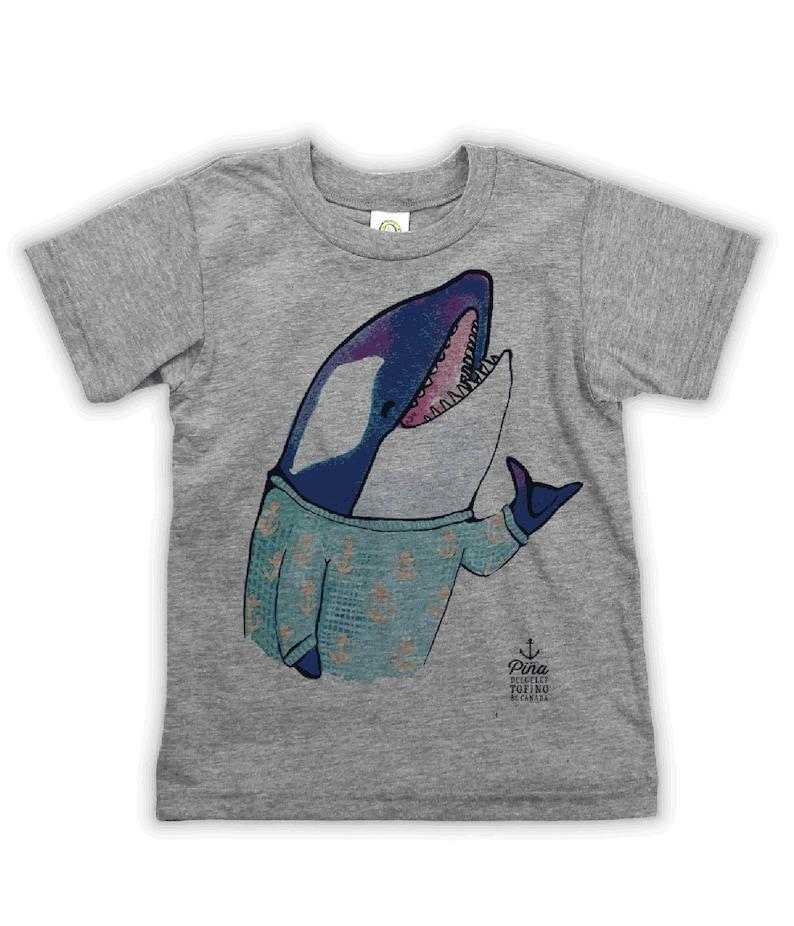 Shaka Orca on Kids T-shirt image 0