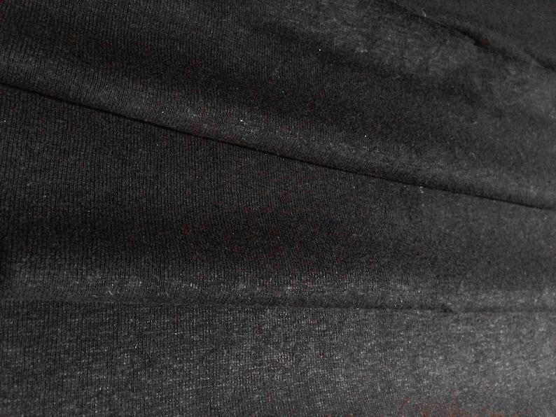 84a6d6c9743 Black 5oz Hemp and Organic Cotton Jersey By the Yard | Etsy