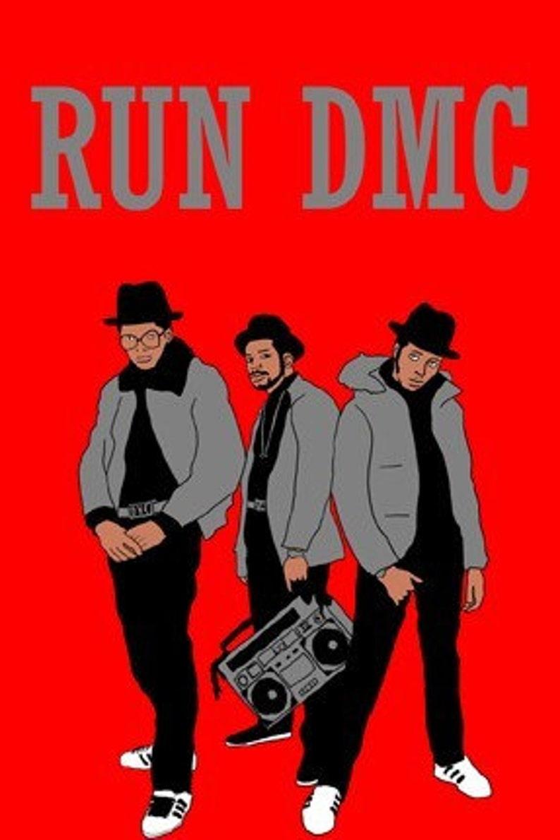 Run DMC Mini Art Print image 0