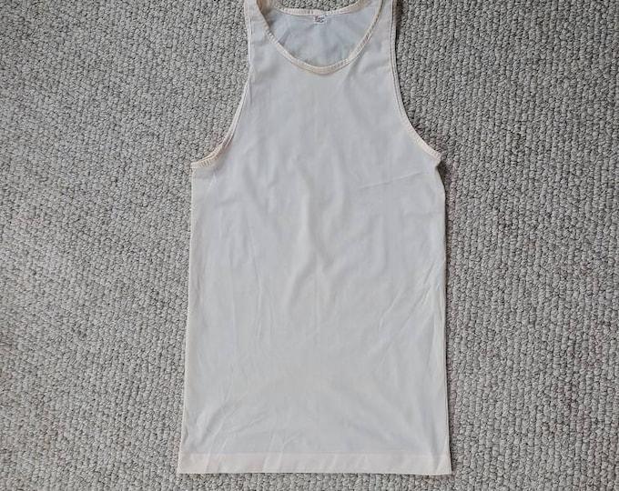 30s 40s mens undershirt, tank top, nylon, 36