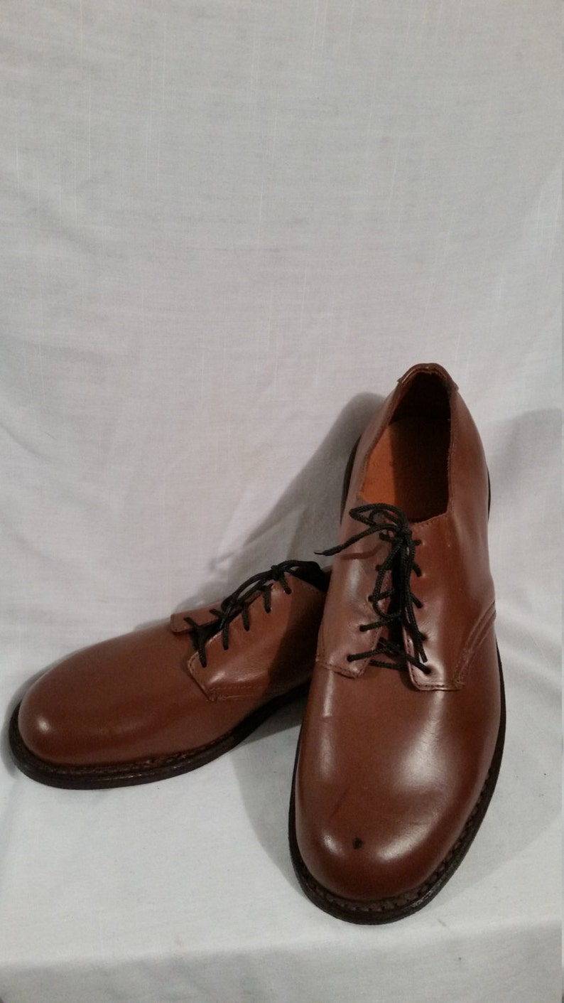 NOS deadstock mens size 7 oxford shoes