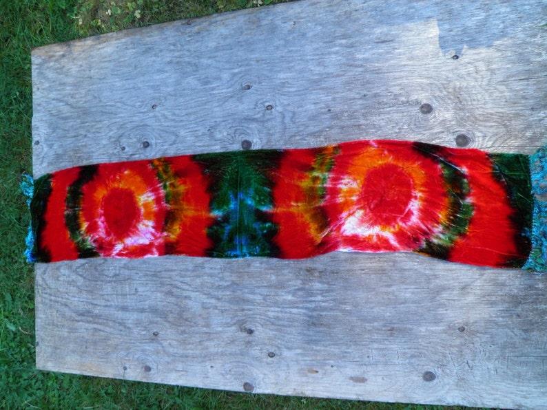 3d0214b63594f Awesome Tie Dye Silk Scarf Dharma Trading Company Silk Velvet | Etsy